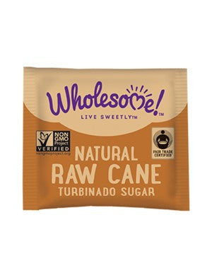 Wholesome Sweeteners Fair Trade Demerara Raw Sugar Packets - 500ct