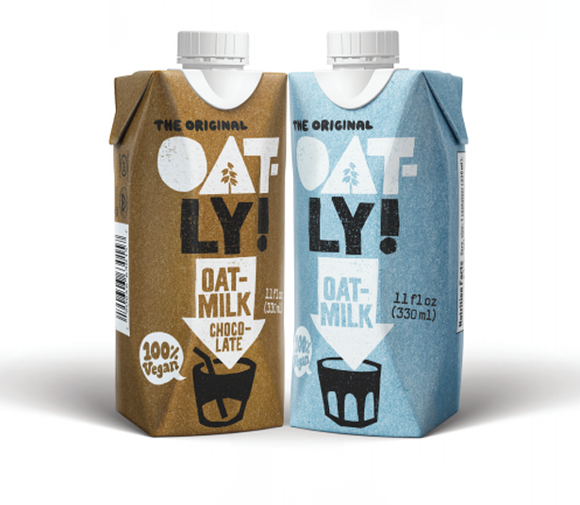 Oatly Single-Serve 11 Ounce Cartons