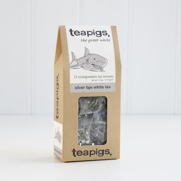 TeaPigs Silver Tips White Tea 15ct