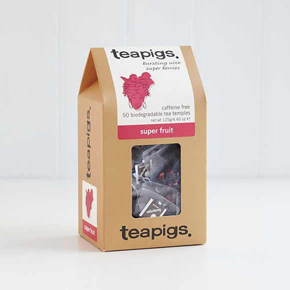 TeaPigs Superfruit Tea 50ct