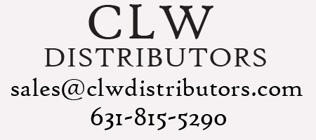 CLW Distributors      631-815-5290    sales@clwdistributors.com