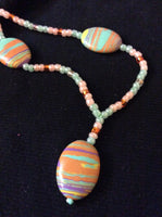 Beach Sunset Handmade Necklace