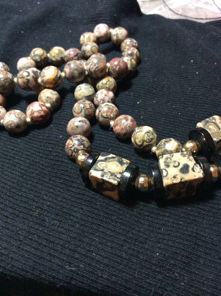 Leopard Jasper Handmade Necklace