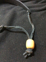 MOP Leather Necklace