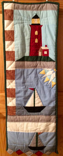 Seashore Hand Quilted Tapestry