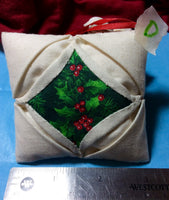 Quilted Christmas Ornaments - Handmade