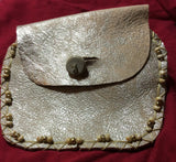 Golden Leather Handmade Ladies Wallet