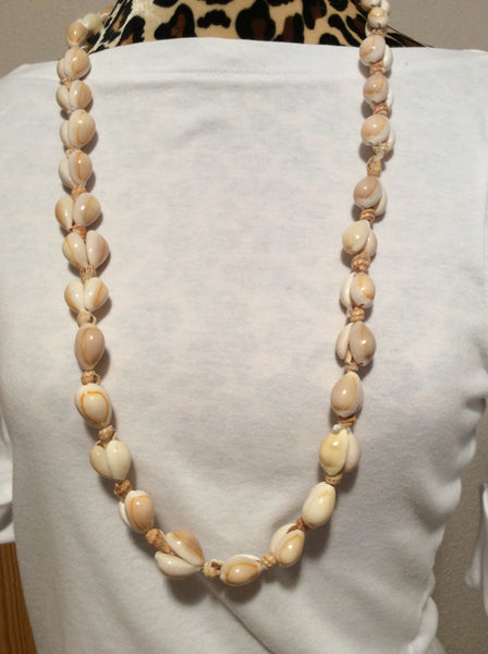 Cowrie Seashell Necklace