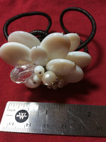 White Mother Of Pearl Collage Bracelet