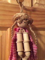 Thread Spool Doll