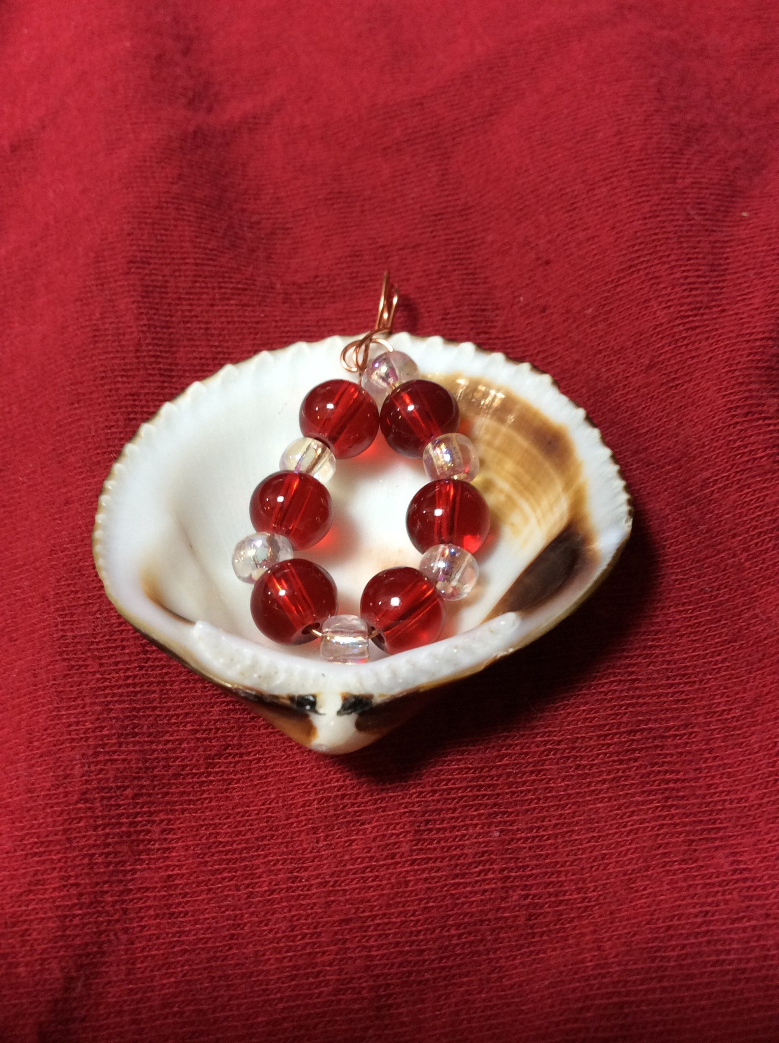 Perfect Edge Seashell Pendant