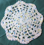 White with Scattered Highlights Pot Holder Set