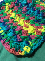 Color Blast Crocheted Pot Holder