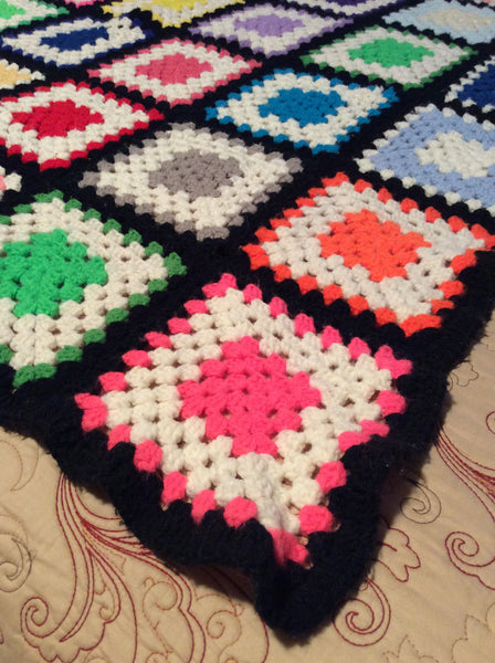 Handmade Crocheted Lap Blanket