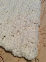 Lap Afghan Hand Crocheted