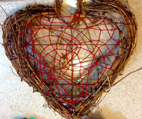 Heart Shaped Natural Vine Dream Catcher