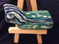 """The Wave"" Mini Driftwood Painting"