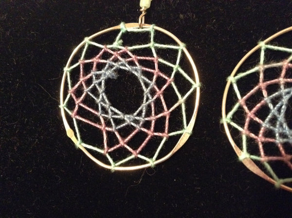 Dream Catcher Stainless Earrings
