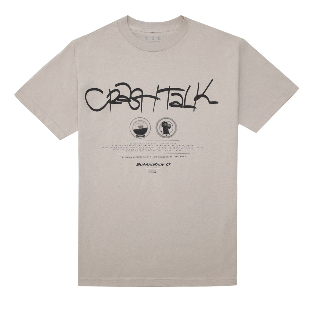 CrasH Talk S/S T-Shirt (Sand)