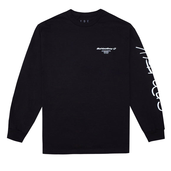 CrasH Talk L/S T-Shirt (Black)