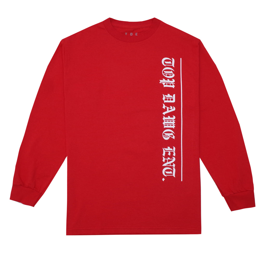 OE19 L/S T-Shirt (Red)