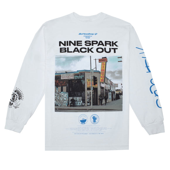 d5189cd0 Nine Spark L/S T-Shirt (White)