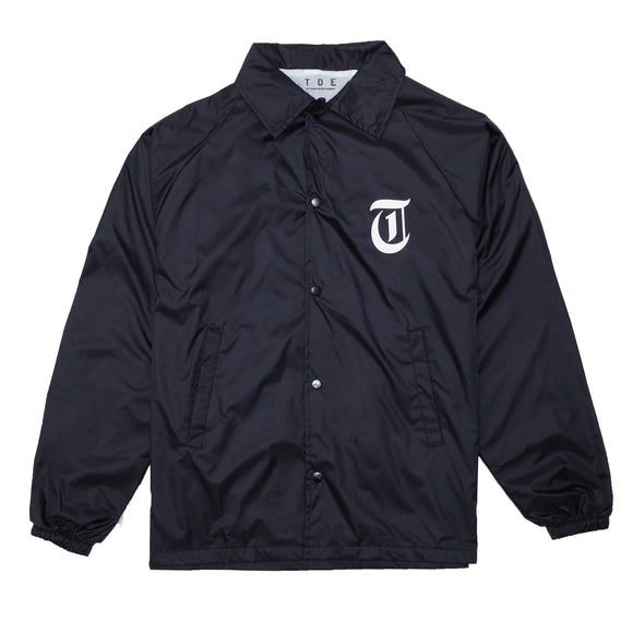 OE19 Coaches Jacket (Black)