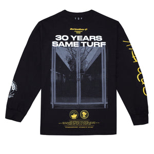 Same Turf L/S T-Shirt (Black)