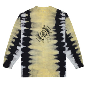 CrasH Talk Tie Dye L/S T-Shirt (Yellow)