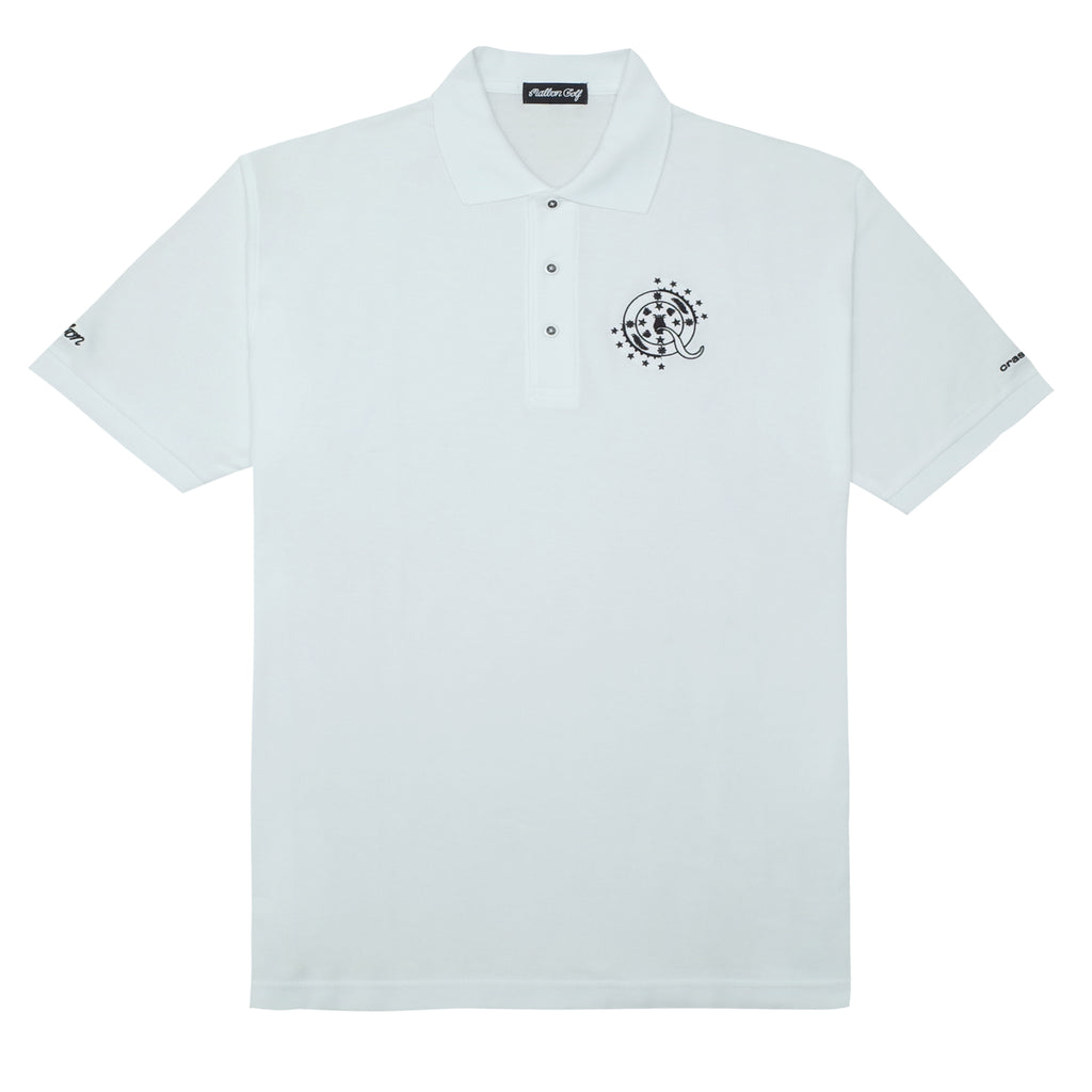 ScHoolboy Q x Malbon Golf Polo (White)