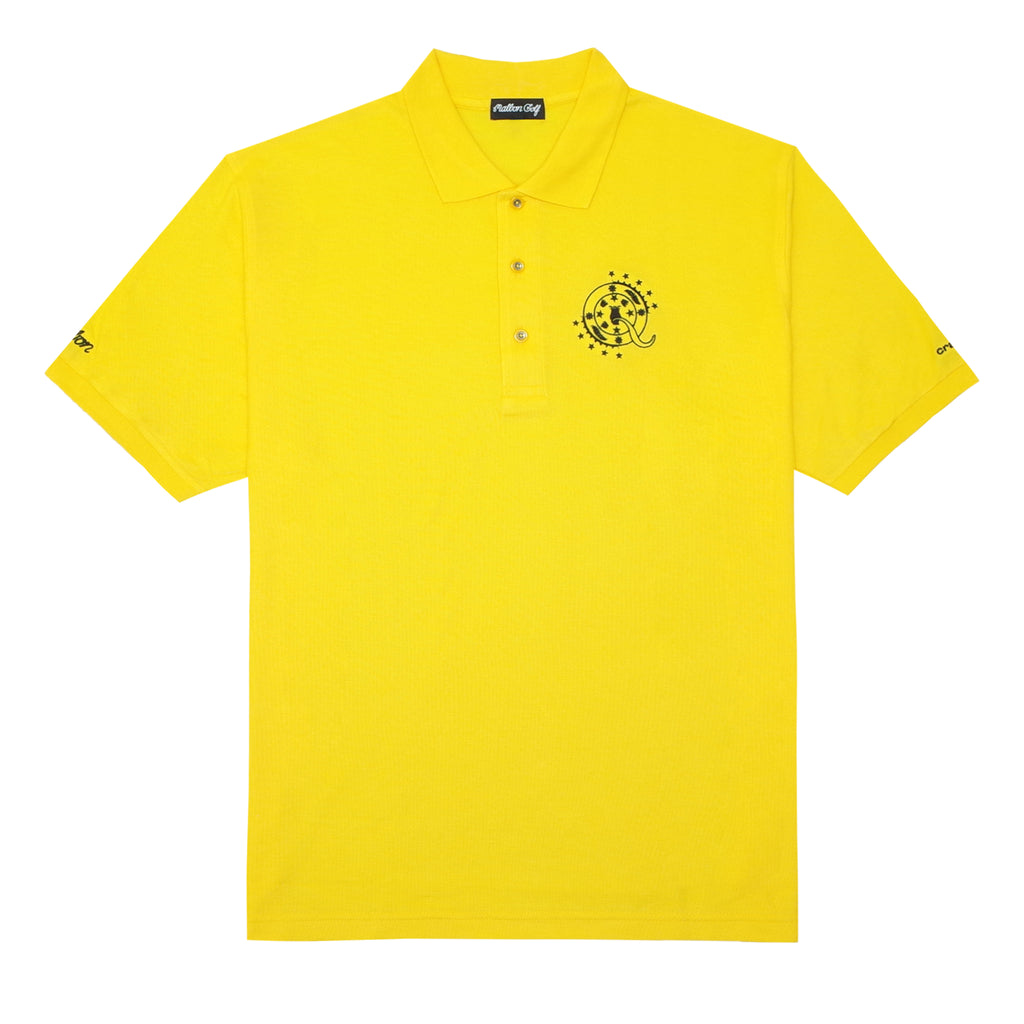 ScHoolboy Q x Malbon Golf Polo (Yellow)