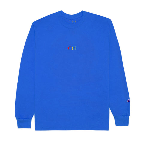 Ctrl L/S T-Shirt (Royal Blue) - PRE-SALE: ORDER WILL SHIP OUT BY JULY 10