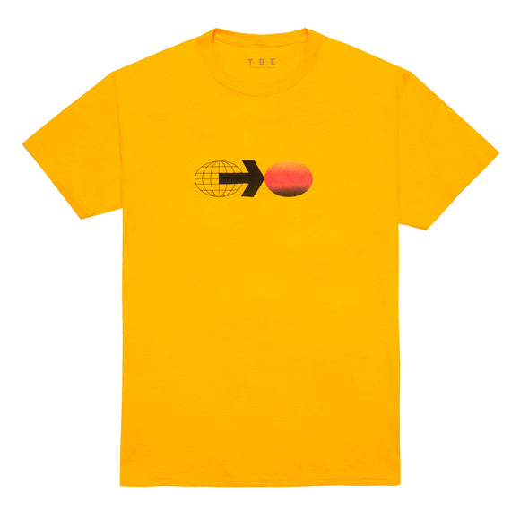 LEAVE IT ALL BEHIND S/S T-SHIRT (YELLOW)