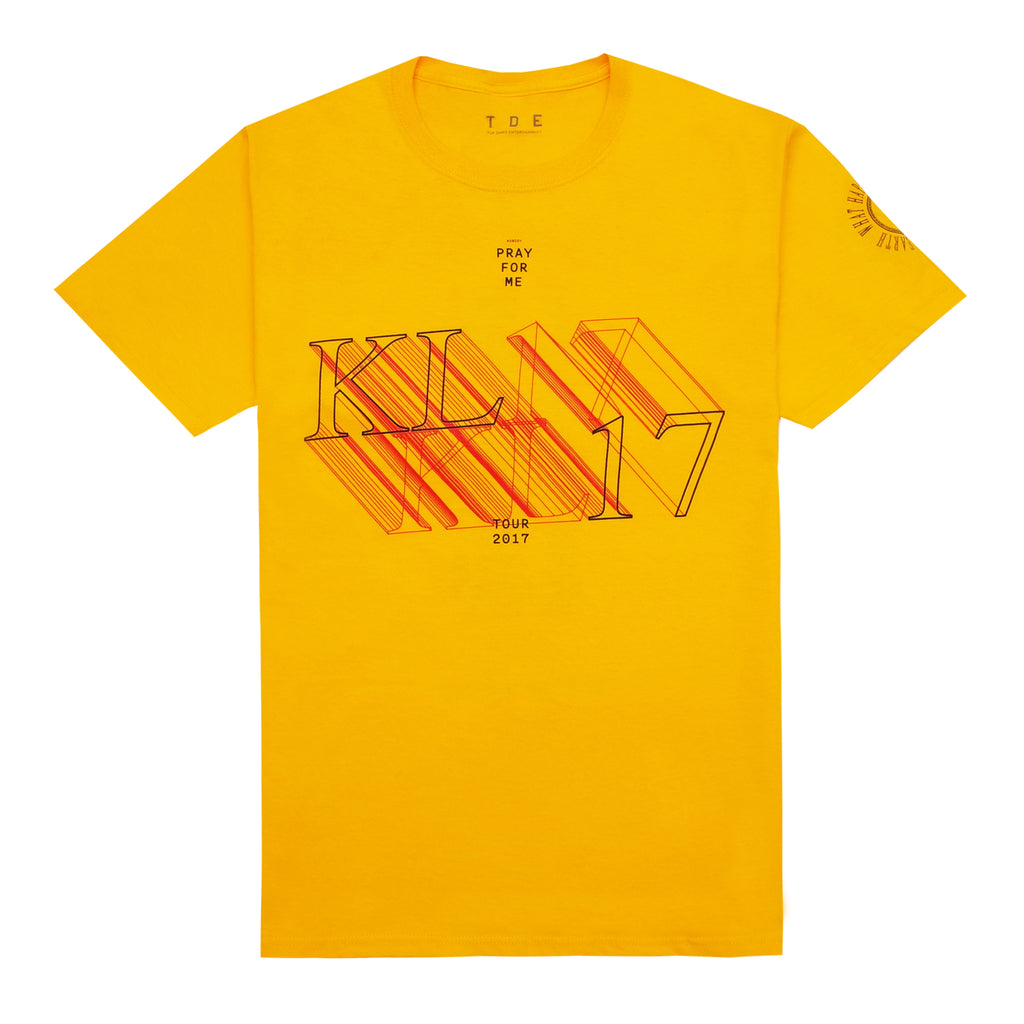 The DAMN. Tour T-Shirt (Gold)