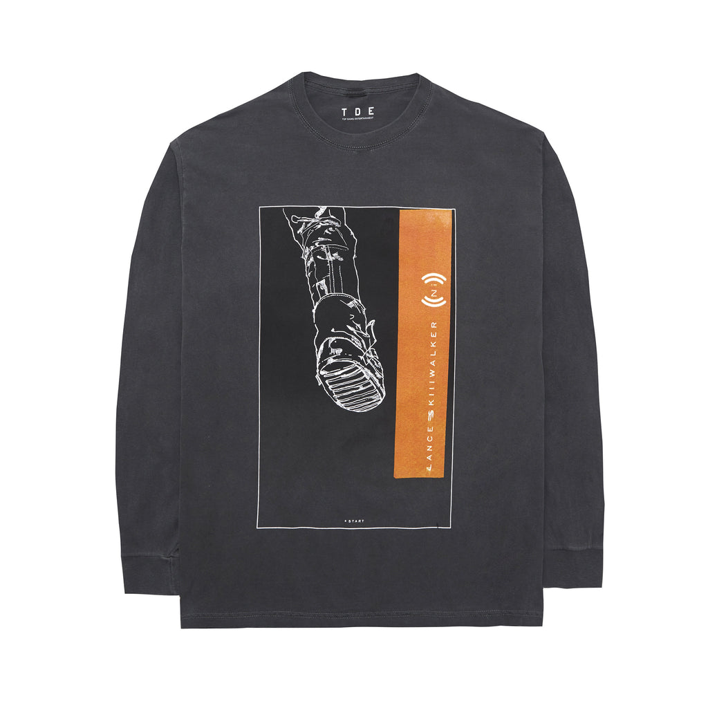 Introverted Intuition Long Sleeve T-Shirt (Ash Grey)