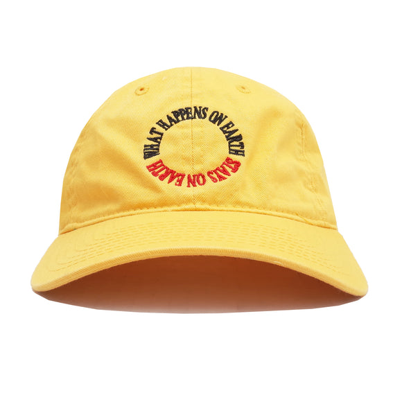 What Happens On Earth Hat (Yellow)