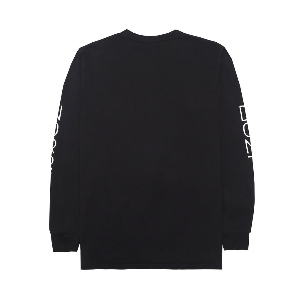 Don't Worry Long Sleeve T-Shirt (Black)
