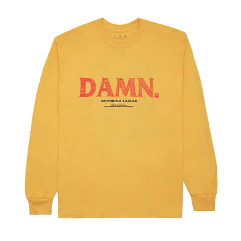 Kung Fu Kenny L/S T-Shirt (Gold)