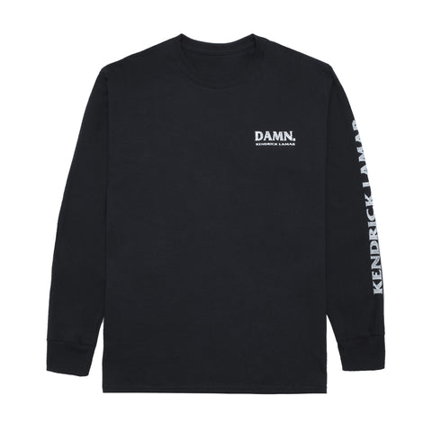Kung Fu Kenny L/S T-Shirt (Black)