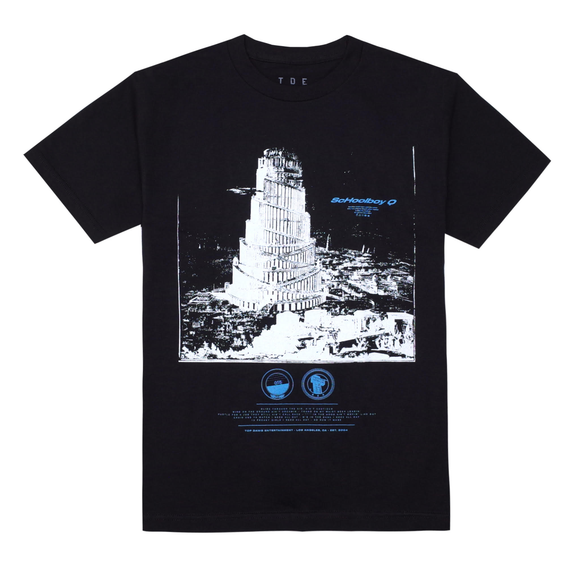 Babel Talk S/S T-Shirt (Black)