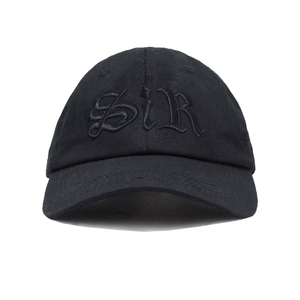 SiR Hat (Black)