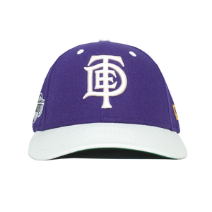 b4f83f631b35c6 TDE x LA Lakers x New Era Hat (Purple/Off White) – Top Dawg Ent