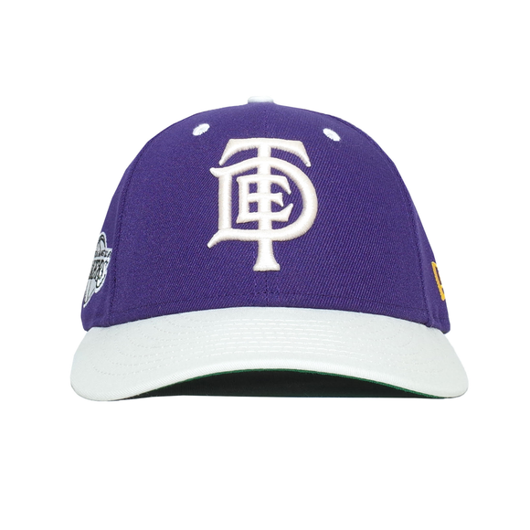 TDE x LA Lakers x New Era Hat (Purple Off White) 34ab842f987