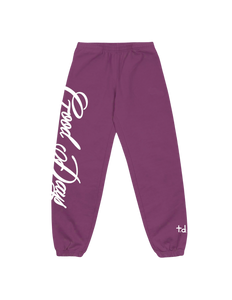 GD SWEATPANT (PLUM)