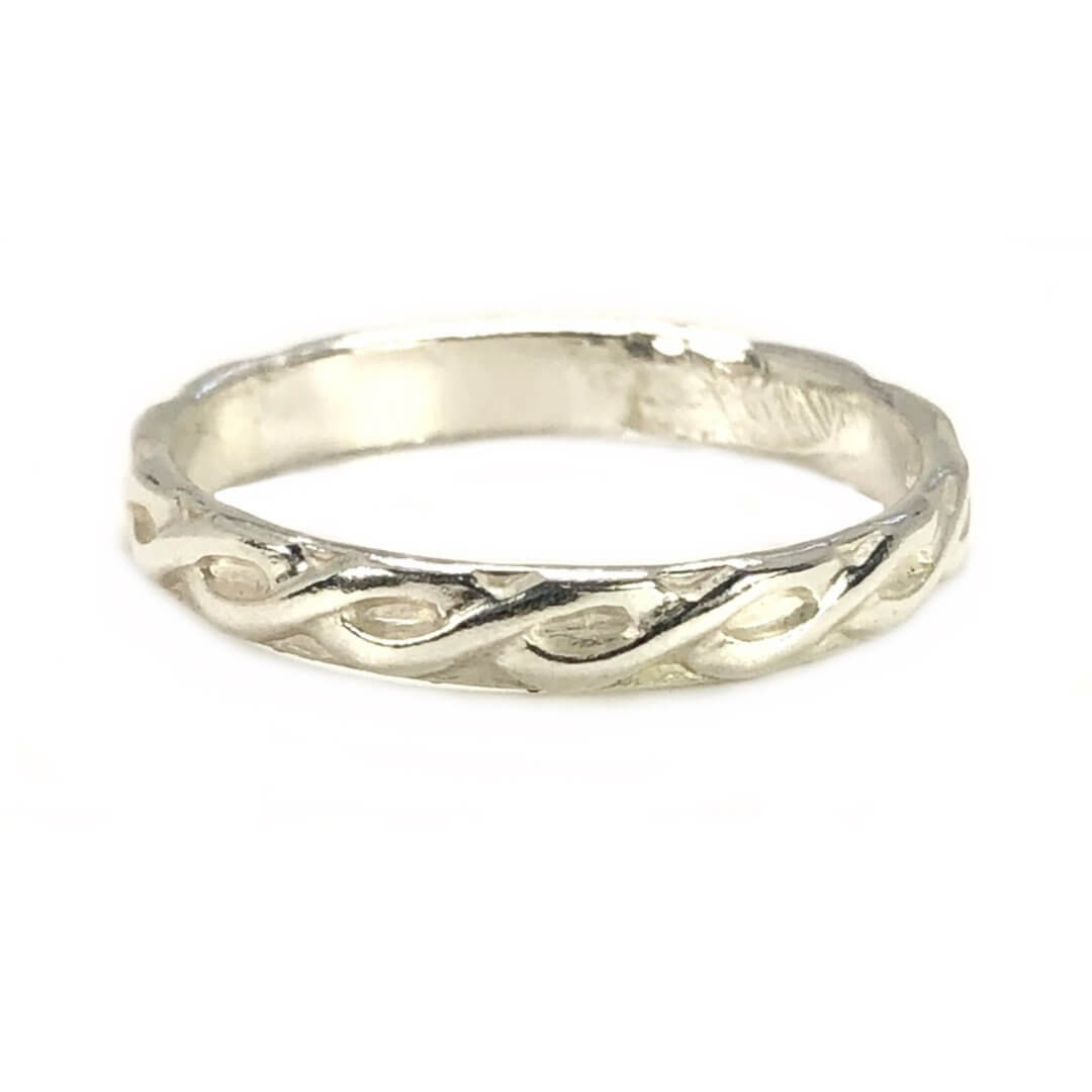 Stackable Ring Mary - Earth Grace Artisan Jewelry