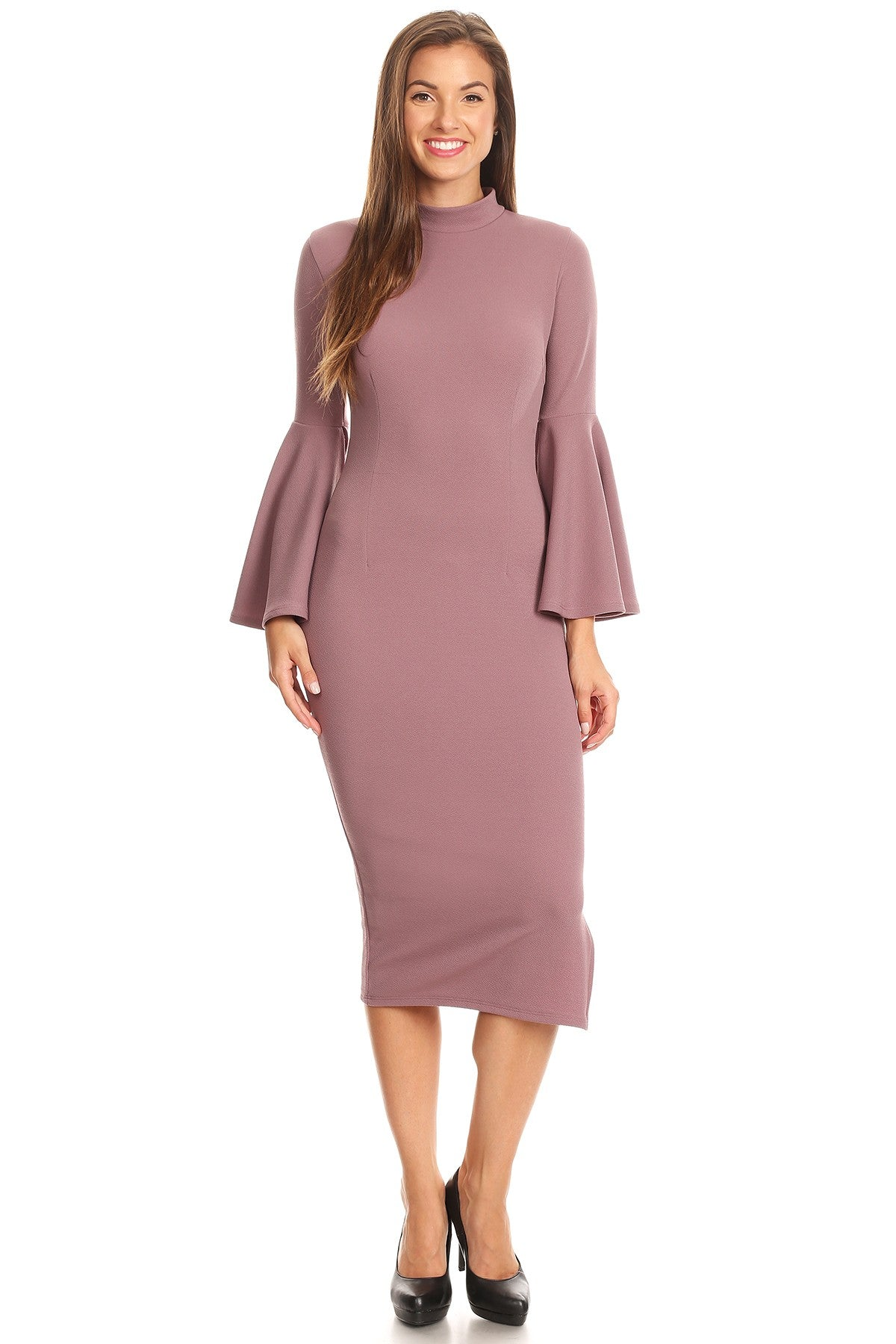 Valencia Dress -  Plum