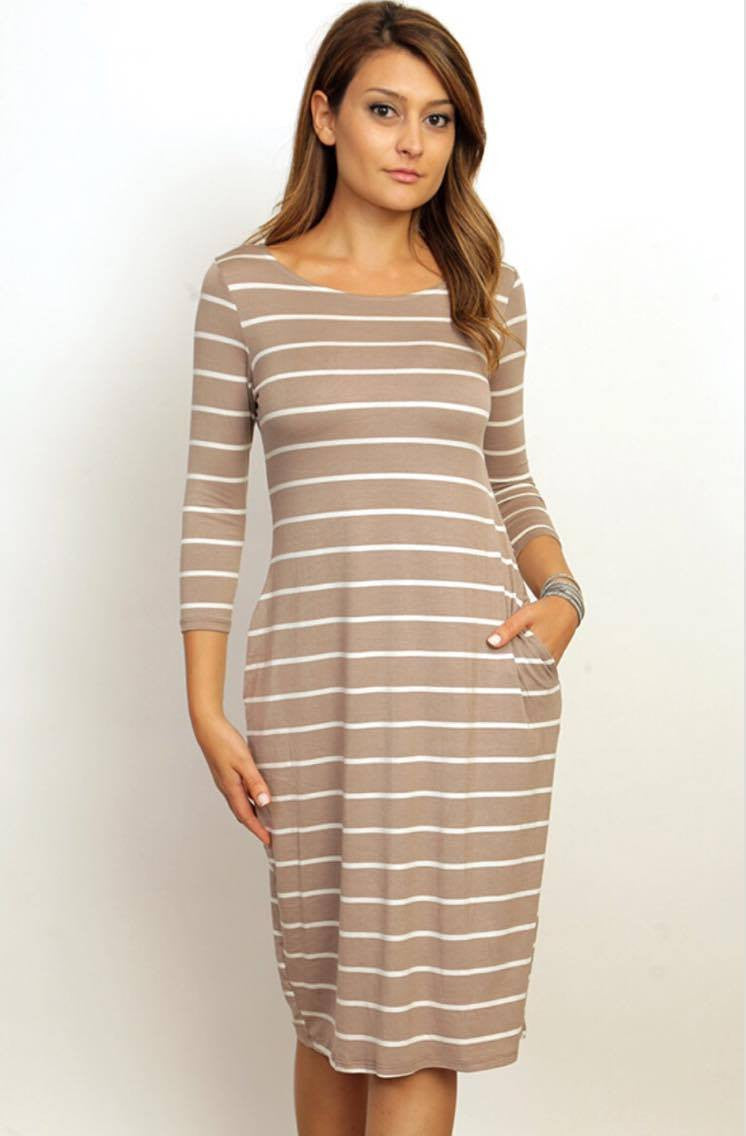 Clara Stripe Dress