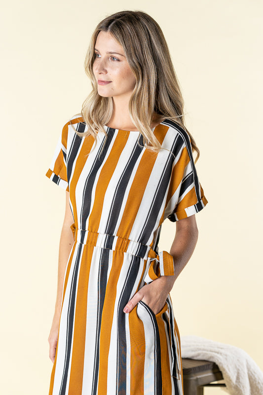 Arlo Striped Dress