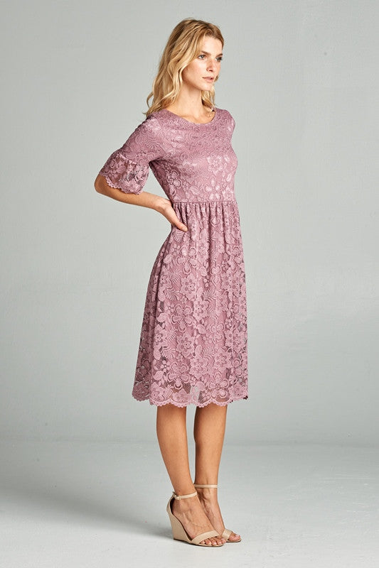 Genevieve Lace Dress