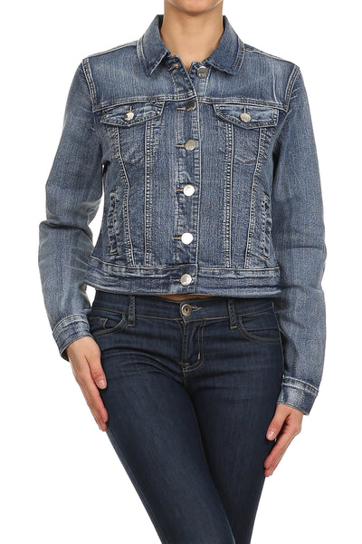Denim Midi jacket